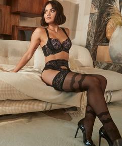 Stocking 15 Denier Elissa Lucy Hale, Zwart