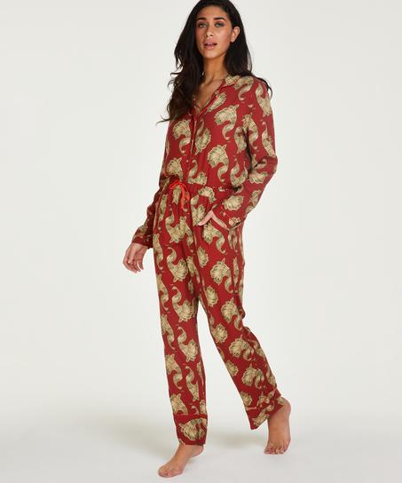 Tall Pyjamabroek Woven, Roze