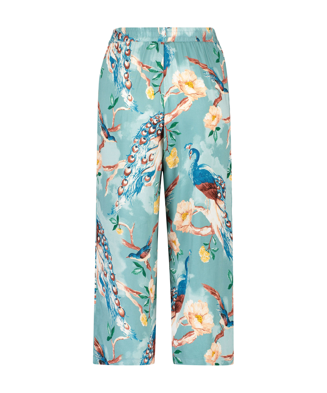 Pyjamabroek Painted Peacock, Blauw, main