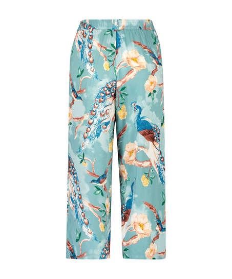 Pyjamabroek Painted Peacock, Blauw