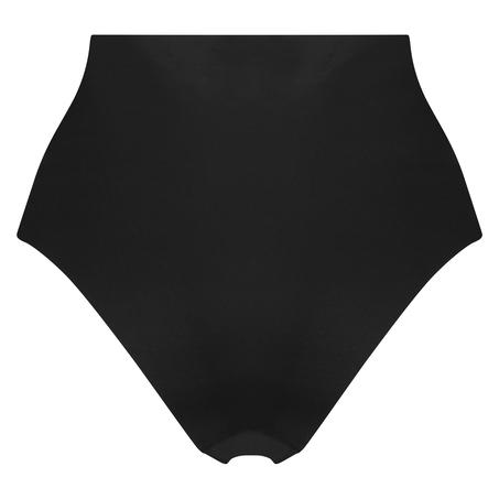 Invisible high waist brazilian, Zwart