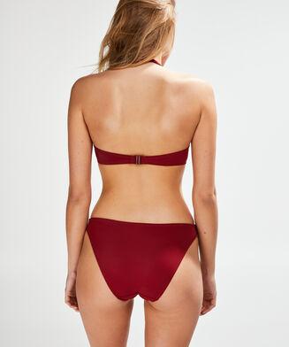 Voorgevormde push-up bikinitop Sunset Dream, Rood