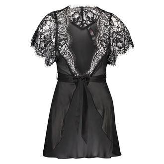 Kimono Chiffon, Noir