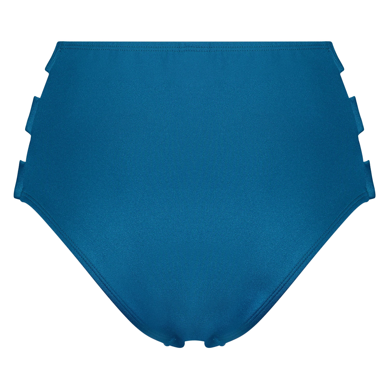 Hoog cheeky bikinibroekje Sunset Dream, Blauw, main