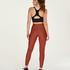 HKMX High waisted sport legging Shine On, Rood