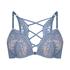 Soutien-gorge à armatures préformé push-up Cardi, Bleu