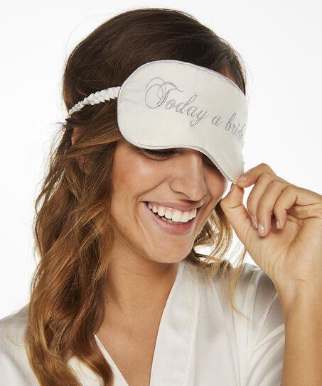 Masque pour les yeux Bridal, Blanc