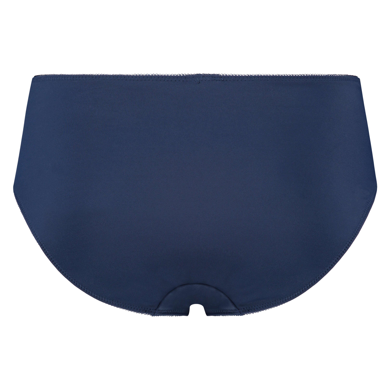 Slip taille haute Diva, Bleu, main