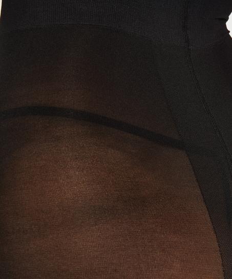 Panty 40 Denier Compression, Zwart