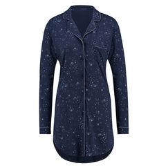 Chemise de nuit Menshirt Jersey, Bleu