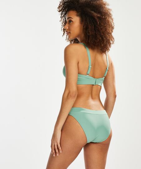 Bikini croptop Sienna, Groen