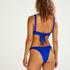 Triangle bikinitop Luxe, Blauw