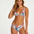 Top de bikini Triangle Vintage, Blanc