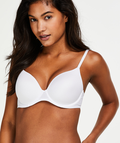 Soutien-gorge t-shirt basic, Blanc