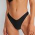 Bas de bikini rio échancré HKM x NA-KD, Noir