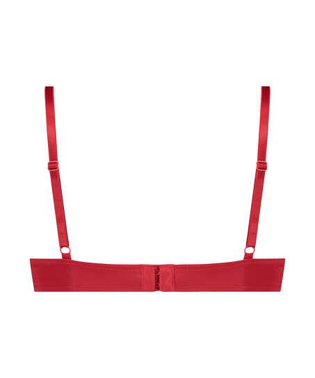 Soutien-gorge à armatures préformé Plunge, Rouge