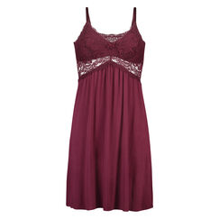 Nuisette Jersey Lace, Rouge
