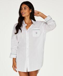 Chemise de nuit Doutzen, Blanc