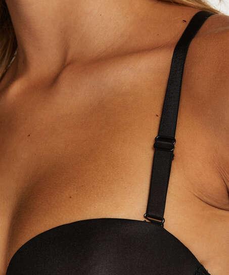 Lace back detail, Zwart