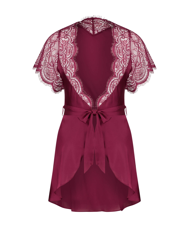 Kimono Cap Sleeve, Rood, main