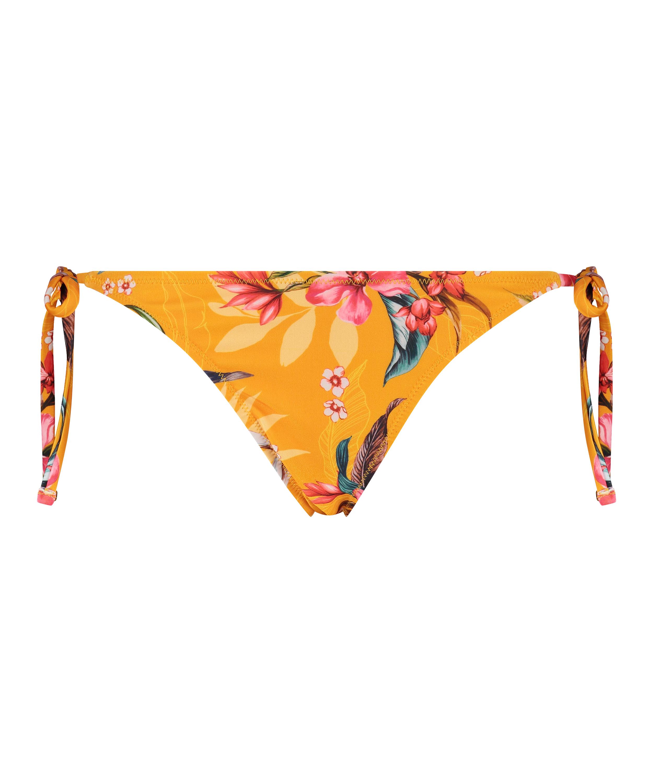 Bas de bikini brésilien coquin Orchid, Jaune, main
