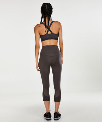 HKMX High waisted capri level 2, Grijs