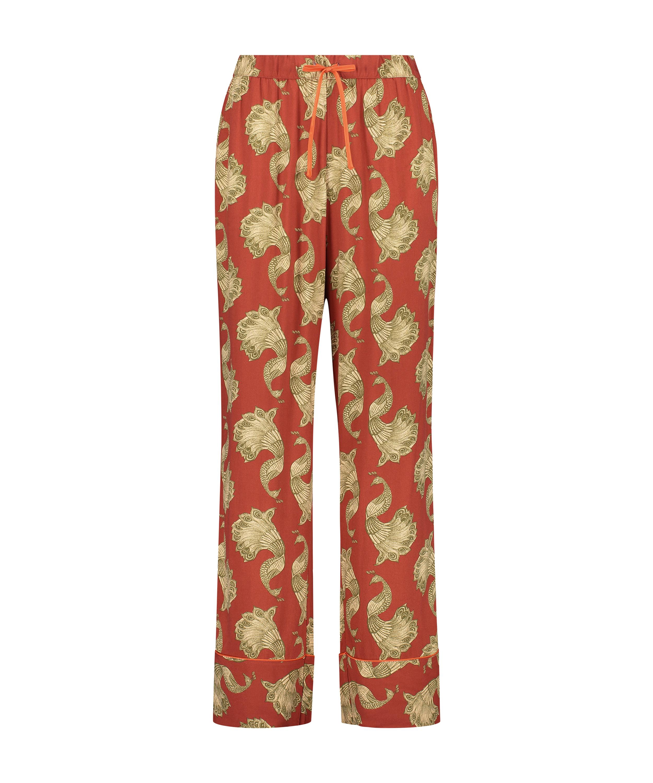 Pyjamabroek Woven, Roze, main