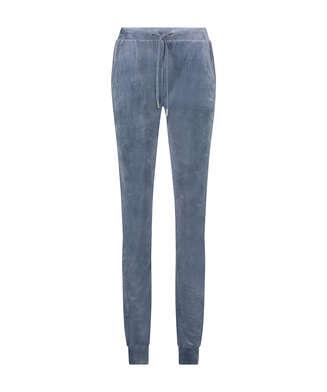 Pantalon de pyjama Tall Velours Shimmer Tape, Gris