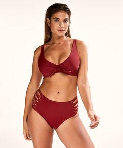 Niet-voorgevormde beugel bikinitop Sunset Dreams, Rood
