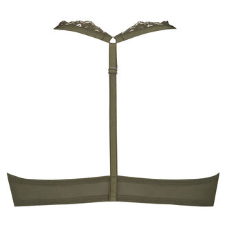 Voorgevormde push-up beugel bh Persephone, Groen