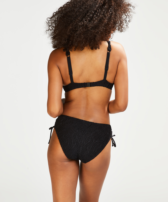 Rio bikinibroekje Crochet, Zwart, main