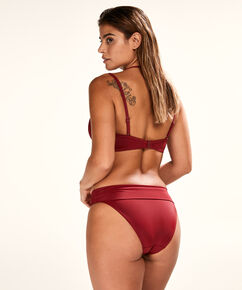 Fold over Bikinislip Sunset Dream, Rood
