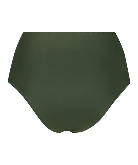 Short de bikini taille haute Luxe, Vert