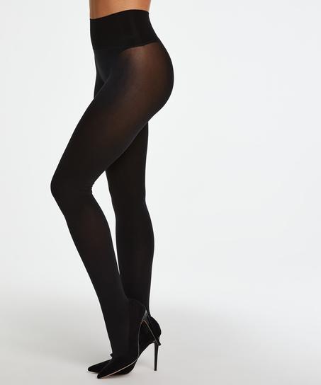 Naadloze Panty 60 Denier, Zwart