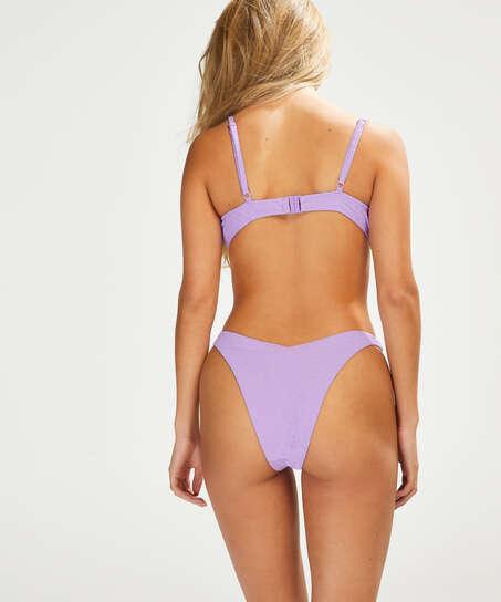 Haut de bikini à armatures non préformé Libby, Pourpre