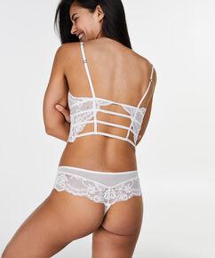 Boxer string Roberta, Blanc