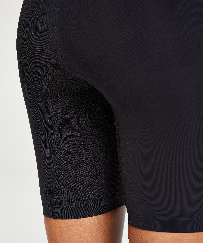 Verstevigende thigh slimmer - Level 2, Zwart, main