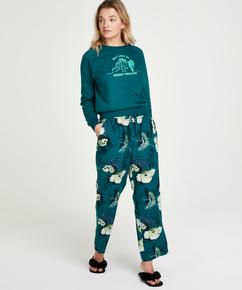 Pantalon de pyjama Petite Lotus Bird, Gris
