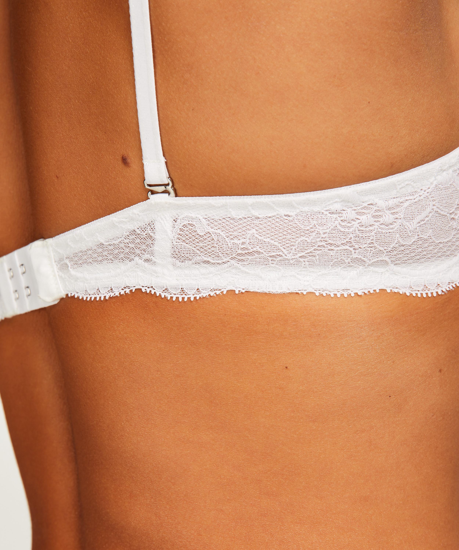 Soutien-gorge à armatures préformé push-up Angie, Blanc, main