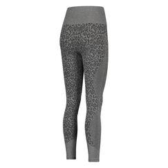 HKMX high waist sport legging roundknit leopard, Grijs