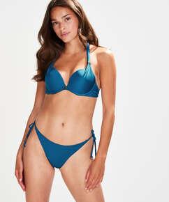 Bas de bikini string Sunset Dream, Bleu