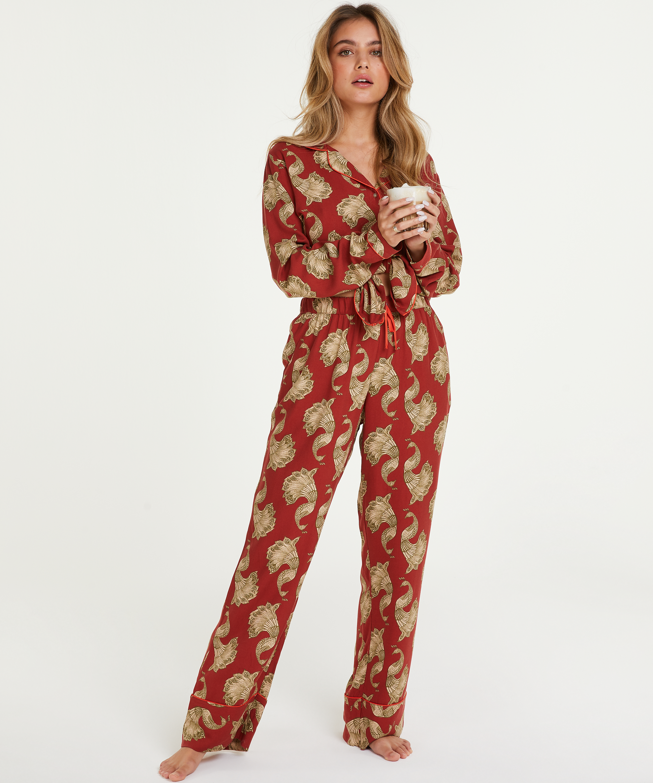 Petite pyjamabroek Woven, Roze, main