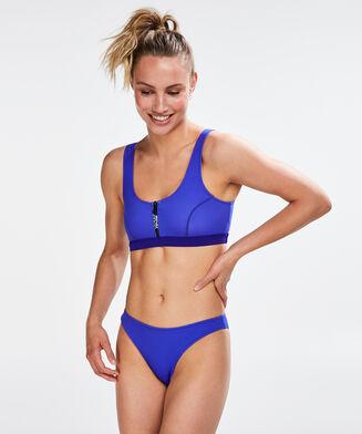 HKMX Bikini Croptop Neo, Blauw