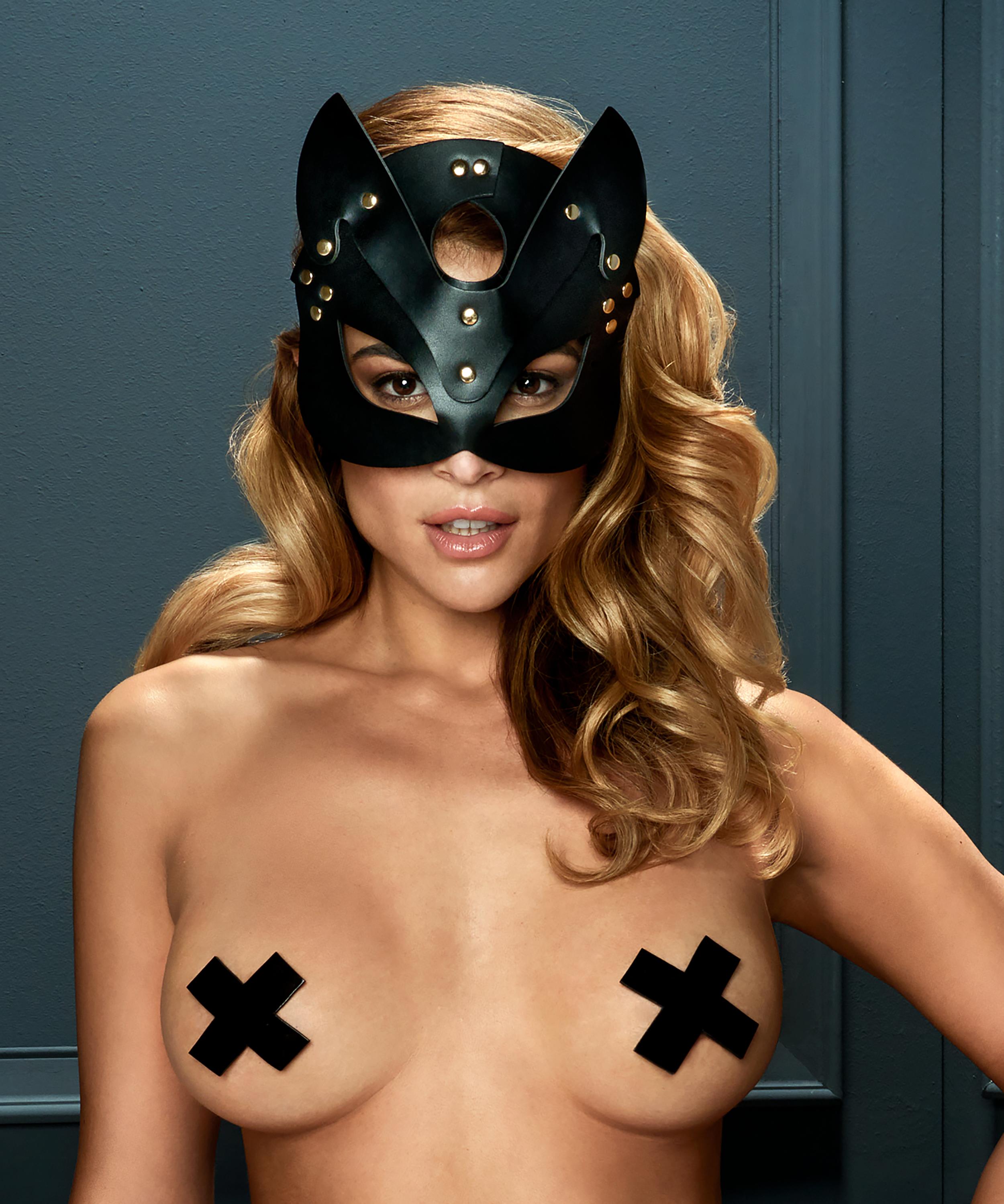 Private masque de chaton, Noir, main