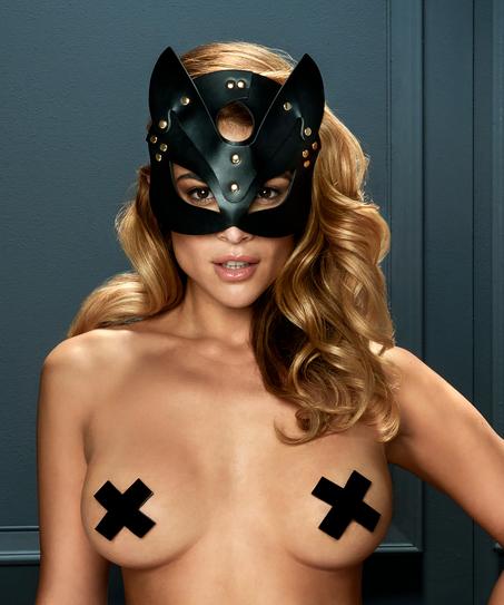 Private masque de chaton, Noir