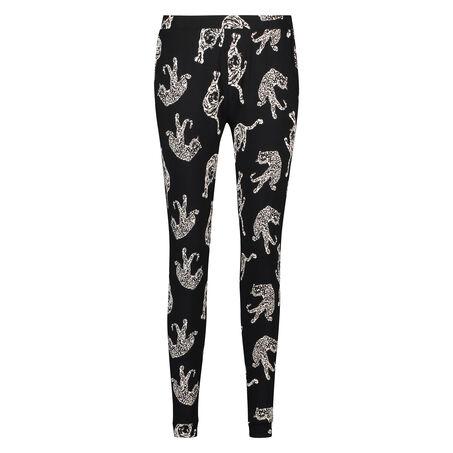 Pantalon de pyjama Loose fit, Noir
