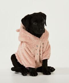 Fleece honden onesie, Grijs