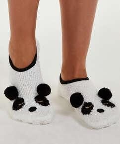 Pantoffels Panda, Geel