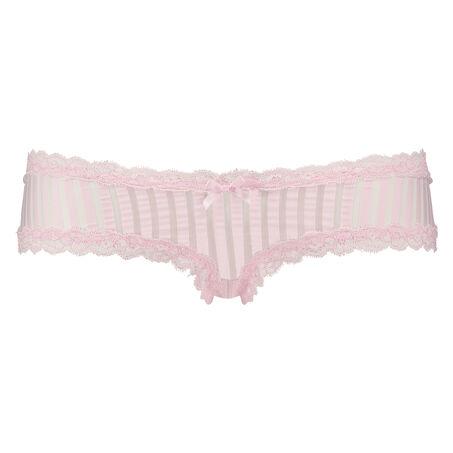 Brazilian V-shape mesh, Roze