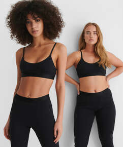 High waisted sportlegging Zia HKM x NA-KD, Zwart